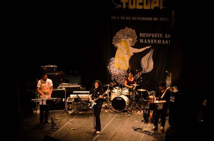 Festival Até o Tucupi de Artes Integradas 2016 abre inscrições para artistas solo e bandas com músicas própria. (Na foto, a cantora amazonense Kely Guimarães, no Até o Tucupi 2015).